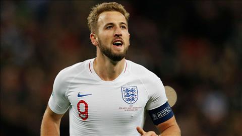 Tiền đạo Harry Kane lập kỷ lục ghi bàn sau trận Montenegro hình ảnh