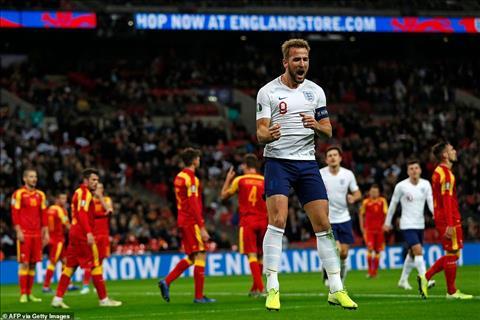 Anh 7-0 Montenegro Harry Kane lập hat-trick, phá kỷ lục Roooney hình ảnh