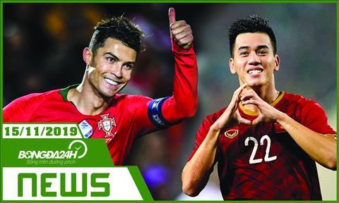 Tin tức bóng đá 24h hôm nay 1511 Ronaldo lập hattrick hình ảnh