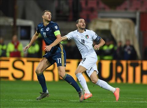 Bàn thắng kết quả Bosnia vs Italia 0-3 vòng loại Euro 2020 hình ảnh