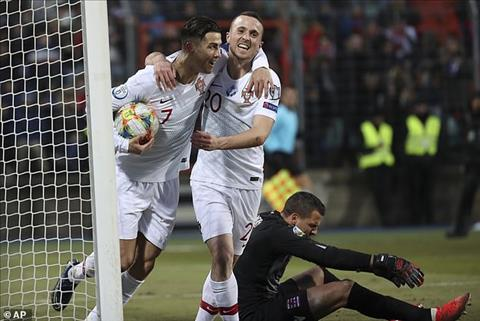Luxembourg 0-2 Bồ Đào Nha Ronaldo ghi bàn dễ nhất sự nghiệp, Seleccao có mặt ở VCK Euro 2020 hình ảnh 3