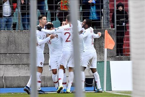 Luxembourg 0-2 Bồ Đào Nha Ronaldo ghi bàn dễ nhất sự nghiệp, Seleccao có mặt ở VCK Euro 2020 hình ảnh 2