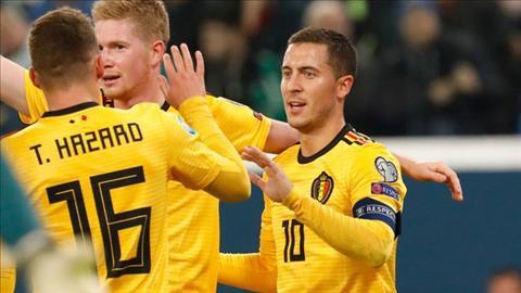 Bàn thắng kết quả Nga vs Bỉ 1-4 vòng loại Euro 2020 hình ảnh