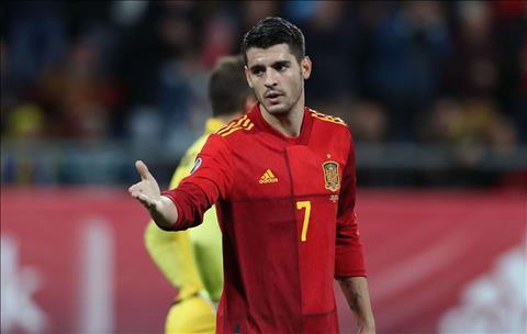 Alvaro Morata thừa nhận phải chiến đấu để được dự Euro 2020 hình ảnh