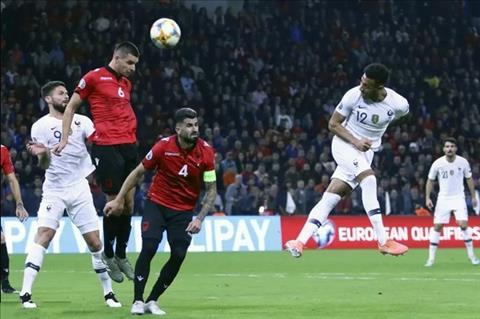 Bàn thắng kết quả Albania vs Pháp 0-2 vòng loại Euro 2020 hình ảnh