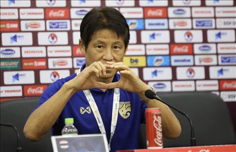 Họp báo trước trận Việt Nam vs Thái Lan HLV Nishino áp lực, HLV Park Hang Seo quyết tâm hình ảnh 5