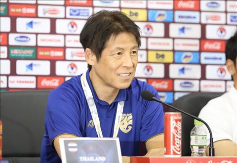 Họp báo trước trận Việt Nam vs Thái Lan HLV Nishino áp lực, HLV Park Hang Seo quyết tâm hình ảnh 7