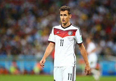 Top 10 cầu thủ ghi bàn nhiều nhất cho ĐT Đức Số 1 Miroslav Klose hình ảnh