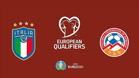 Italia vs Armenia 2h45 ngày 1911 Vòng loại Euro 2020 hình ảnh