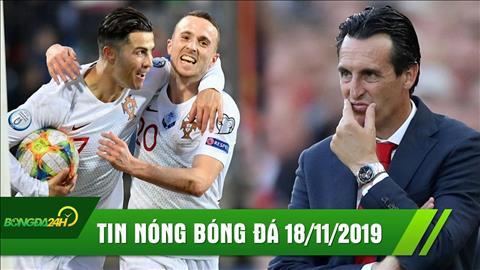 Tin bóng đá 1811 Ronaldo đưa Bồ Đào Nha đến Euro 2020 hình ảnh