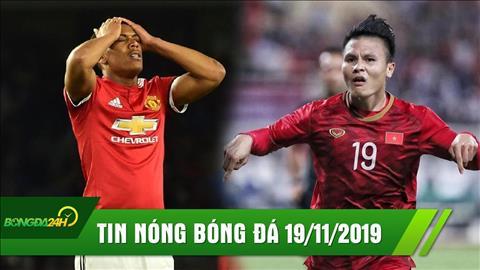 Diem tin bong da sang hom nay 19/11: HLV Park Hang-seo khoe Quang Hai duoc moi sang Tay Ban Nha thi dau