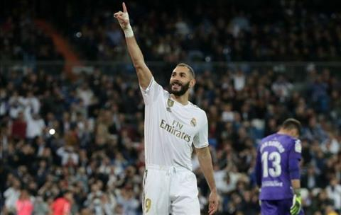 Real Madrid 5-0 Leganes Benzema ghi ban