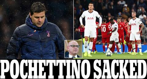 Chính thức Tottenham sa thải HLV Pochettino! hình ảnh
