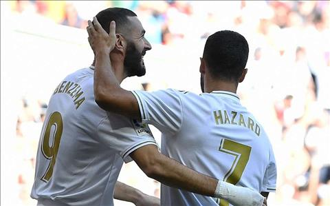 Hazard: 'Benzema la tien dao hay nhat the gioi'