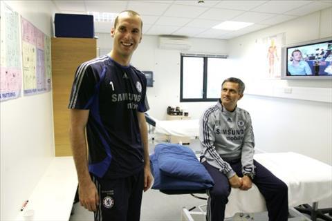 Petr Cech nói về HLV Jose Mourinho hình ảnh