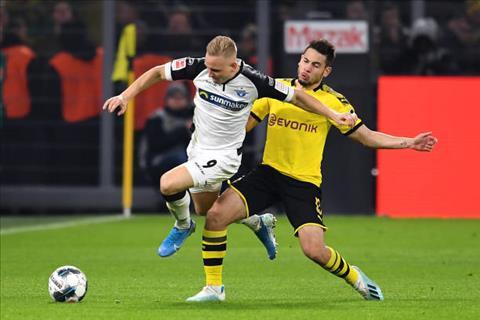 Dortmund 3-3 Paderborn Màn ngược dòng  thất vọng hình ảnh 2