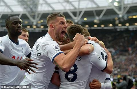 Tottenham danh bai West Ham 3-1