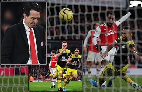 Arsenal 2-2 Southampton 1 điểm vớt được bao nhiêu niềm tin hình ảnh