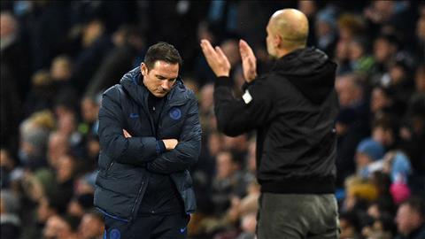HLV Lampard thất vọng tột cùng sau trận thua ngược Man City hình ảnh
