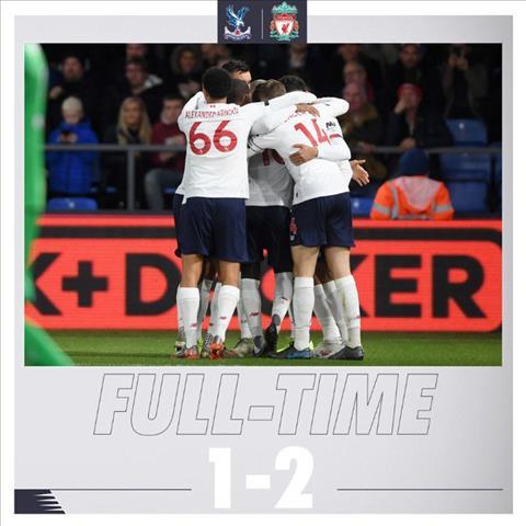 Ket qua Palace 1-2 Liverpool