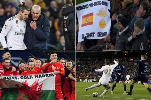 Những tiếng huýt sáo và thông điệp của Gareth Bale
