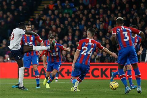 Thống kê Crystal Palace 1-2 Liverpool Cái duyên của Mane hình ảnh
