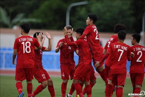 Trực tiếp bóng đá U22 Việt Nam 2-0 U22 Brunei (H1) Hà Đức Chinh lập cú đúp hình ảnh 2