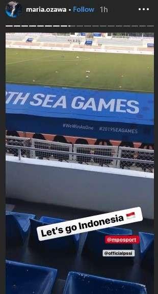 Thánh nữ Maria Ozawa bất ngờ xuất hiện ở SEA Games 2019 hình ảnh