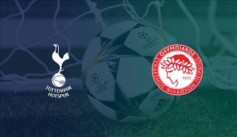 Tottenham vs Olympiacos vong bang Champions League
