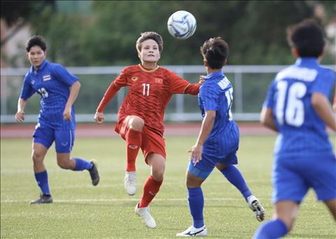 Trực tiếp bóng đá Nữ Việt Nam 1-0 Nữ Thái Lan (H2) Bảo vệ lợi thế hình ảnh 3