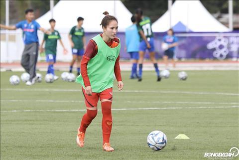 Trực tiếp bóng đá Nữ Việt Nam 1-0 Nữ Thái Lan (H2) Bảo vệ lợi thế hình ảnh 8