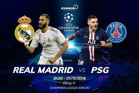 Kết quả Real Madrid vs PSG Cúp C1 châu Âu 2019 đêm nay 2611 hình ảnh