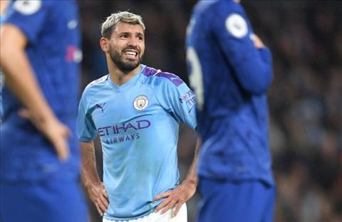 Sergio Aguero dính chấn thương, lỡ trận derby Manchester hình ảnh
