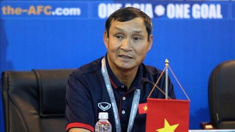 HLV Mai Đức Chung trả lời họp báo trước thềm SEA Game 30 hình ảnh