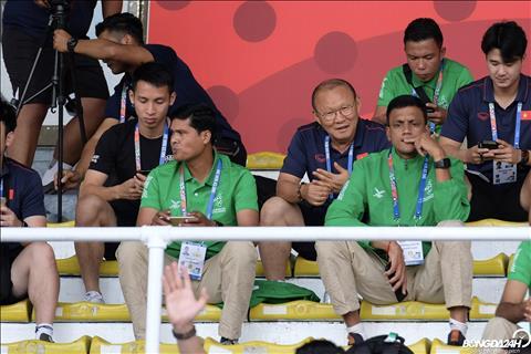 HLV Park Hang Seo dự khán trận Thái Lan - Indonesia  hình ảnh