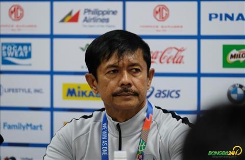 Hạ Singapore, HLV Indonesia chưa nghĩ tới trận gặp U22 Việt Nam hình ảnh