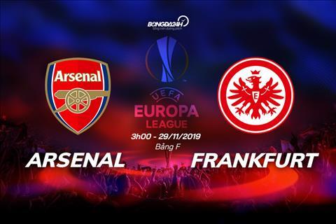 TRỰC TIẾP Arsenal vs Frankfurt Cúp C2 châu Âu 2019 hôm nay hình ảnh