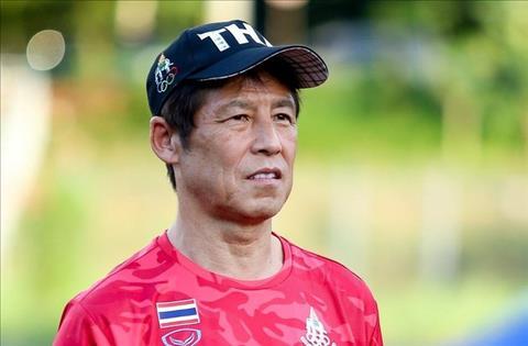 HLV U22 Thái Lan Nishino than phiền về tổ chức Sea Games 30 hình ảnh