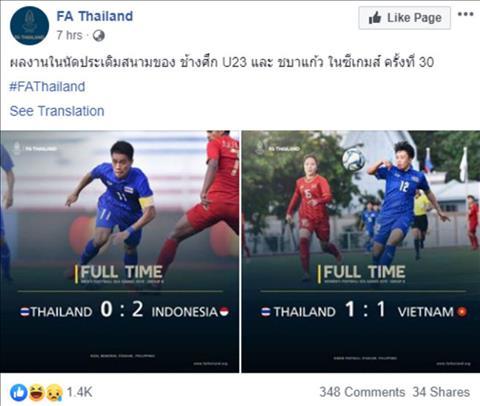 CĐV Thái Lan cổ vũ cho U22 Việt Nam vô địch SEA Games 30 hình ảnh
