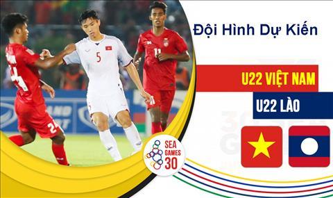 Đội hình U22 Việt Nam vs U22 Lào dự kiến hôm nay 2811 hình ảnh