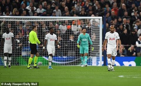 Tottenham nhan 2 ban thua chi sau 20 phut