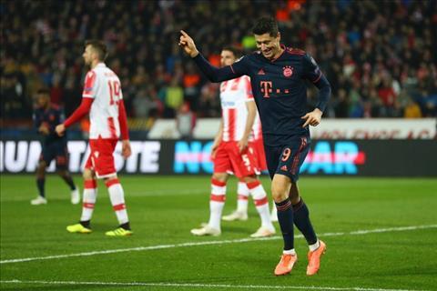 Robert Lewandowski đi vào lịch sử Bayern Munich hình ảnh
