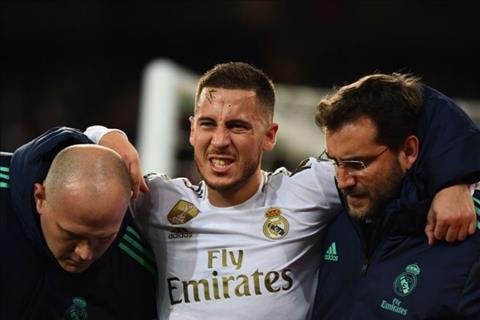 Eden Hazard dính chấn thương sau trận hòa PSG hình ảnh