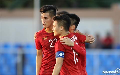 Tien Linh hien dang co 3 ban thang tai SEA Games 30, kem mot ban so voi Ha Duc Chinh.