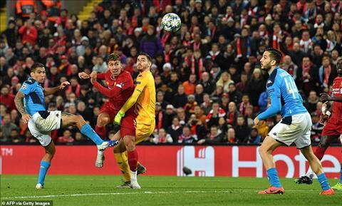 Liverpool 1-1 Napoli HLV Klopp âu lo về nguy cơ sớm băng hà hình ảnh