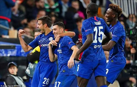 Valencia 2-2 Chelsea