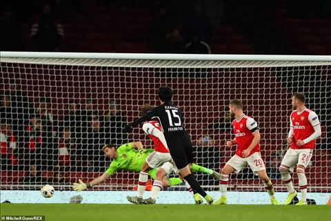 Arsenal 1-2 Frankfurt