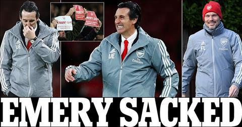Arsenal chinh thuc sa thai HLV Unai Emery va thay the bang huyen thoai Freddie Ljungberg