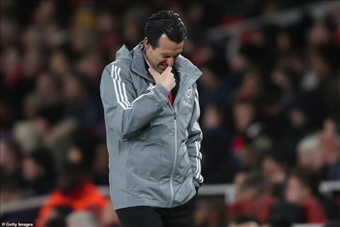 Thoi gian Emery tai vi o Arsenal co le chi con duoc dem bang ngay