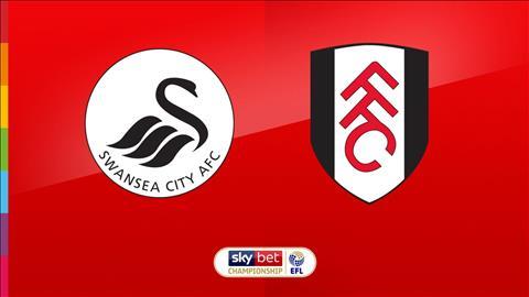 Swansea vs Fulham 2h45 ngày 3011 Hạng nhất Anh 201920 hình ảnh